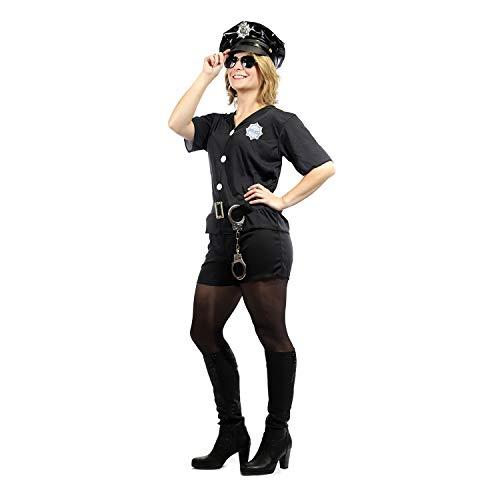 valskostüm für Frauen | Cop | Small (34-36) | Fasching | Kostümzubehör | Outfit | Verkleidung | Karneval ()