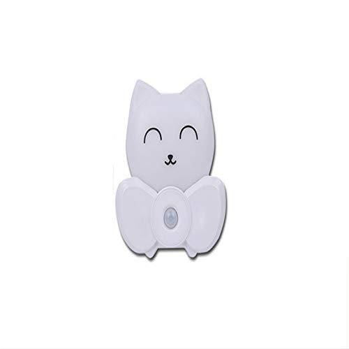 Chat Chanceux Smart Veilleuse USB Chargement Led Lampe De Chevet Contrôle De La Lumière De Nuit Capteur De Lumière Du Corps