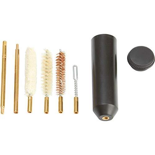 SUNSKYOO 7 Teile/Satz Luftgewehr Barrel Reinigungsbürste Kupferrohr Clean Set Stahl Plüschbürste Polieren Rost Entfernen Werkzeuge (Luftgewehr Flinte)