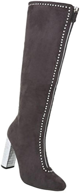 Damen Schuhe Stiefel High Heels  2018 Letztes Modell  Mode Schuhe Billig Online-Verkauf