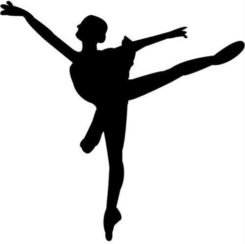 (Fushoulu 49X50Cm Ballett Tanzen In Tutu Ballerina Tanzen Wand Aufkleber Sport Dekor Kunst Decals)