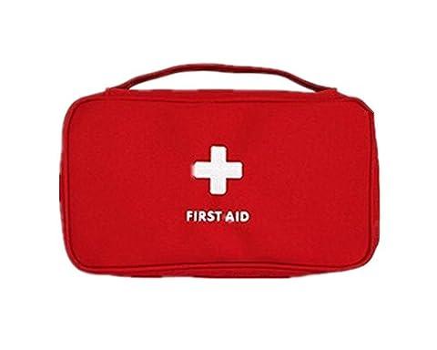 Erste-Hilfe-Kit Mini Medical Bag Reise Portable Drug Pack Red