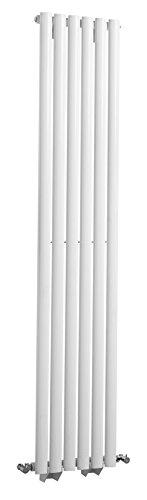 Hudson Reed HL3671500x 354mm hochglanz Revive Single Panel Heizkörper-white-p, weiß, HL323 -
