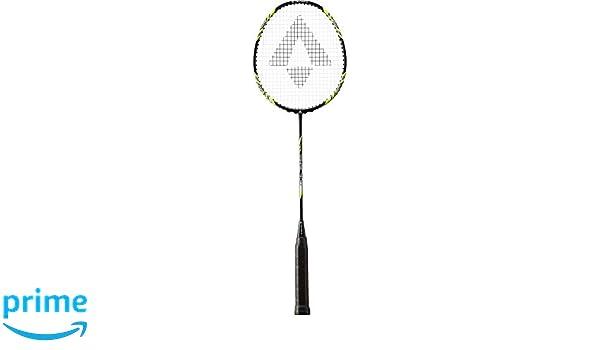 3 1//2 TECNOPRO Mens Tri-Tec 300 Badminton Racket Black//Yellow//White
