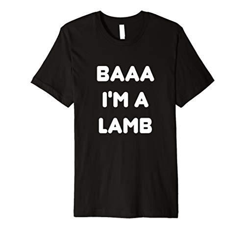 Lamb Halloween-Paar Kostüm T-Shirt