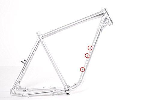 """28\"""" Zoll Fahrrad Rahmen Trekking Herren Bike Pedelec 50cm poliert"""