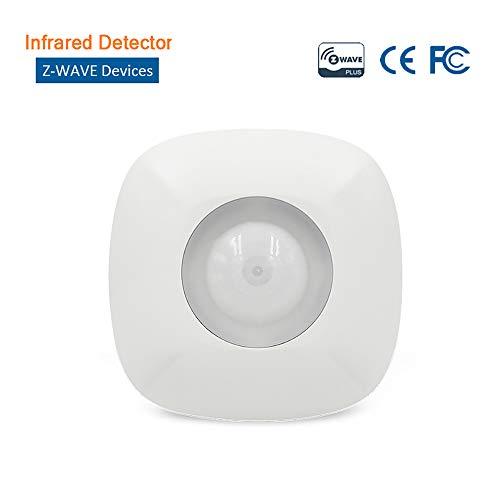 Infrarot-Sensor an der Decke Z-Wave Bewegungsmelder Wireless PIR-Bewegungssensor Alarm Anti-gewalttätiger Abriss Zubehör für intelligente Hausalarmsysteme (Alarm Bewegungsmelder Wireless)