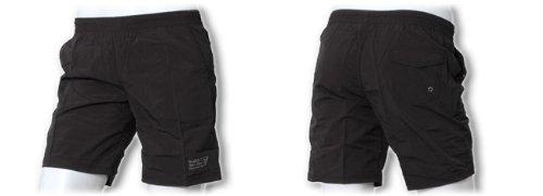 Guess Jeans: Maillot de bain Homme noir Style bermuda Noir