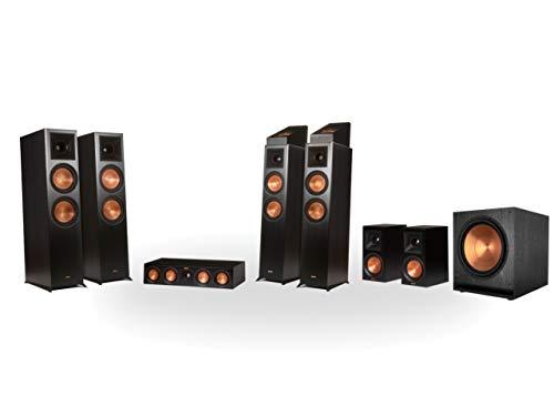 Preisvergleich Produktbild Klipsch RP-8060FA 7.1.4 Dolby Atmos Home Theater System Schwarz (Ebony)