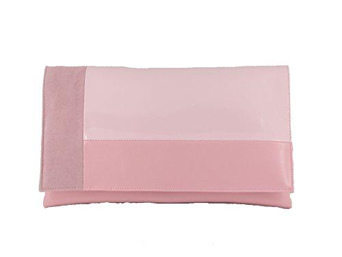 LONI, Poschette giorno donna Grigio grigio large Rosa - Baby Pink