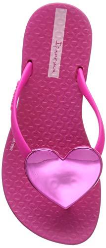 Ipanema Maxi Fashion Kids, Chanclas para Niñas, Multicolor Pink 9076.0, 33/34 EU