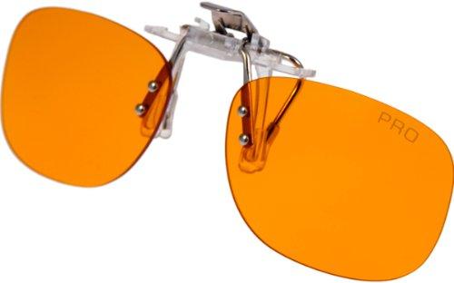 PRiSMA CLiP-ON bluelightprotect PRO - Blueblocker Brillenaufstecker - Brillen-Clip - Brillenaufsatz - CP709