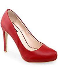 Shuz Touch RED Heels & Stilettos (SIZE-36)