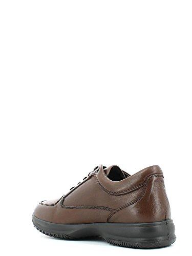 ENVAL , Chaussures de ville à lacets pour homme Noir/beige - T.moro