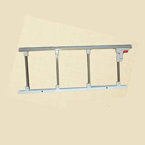 JIMI-I Recinzione in Alluminio Spessa, braccioli ripiegabili, Accessori per la Cura dei Letti, Recinzione Anti-Caduta per Gli Anziani