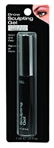 Ardell Brow Sculpting Gel, Almost Black, 0.25-Ounce by Ardell
