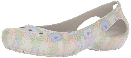 crocs Frauen Kadee Graphic Wohnungen, EUR: 42.5, Light Pink/Floral - Pink Frauen Crocs