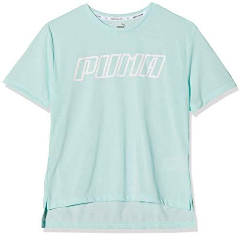 Puma Mädchen A.C.E. Tee G T Shirt, Fair Aqua, 140 - Puma Kleidung Mädchen