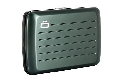Esta elegante cartera incluye un cierre de acero y es resistente al agua. Ligera y fácil de usar, esta billetera estará contigo en todos tus aventuras.