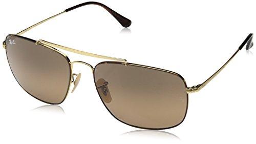 Ray-Ban Herren 0RB3560 910443 61 Sonnenbrille, Havana/Browngradientgrey,