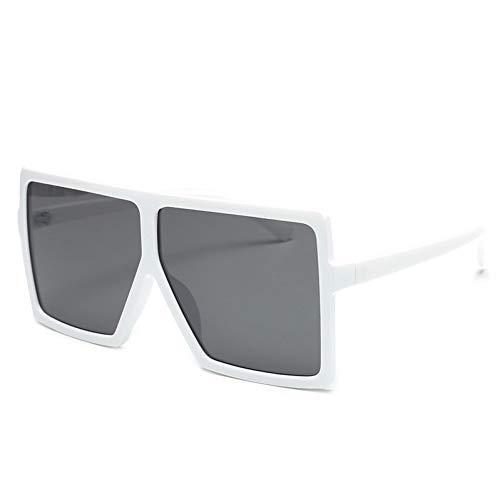 GJYANJING Sonnenbrille Mode Übergroßen Sonnenbrillen Für FrauenVintageSonnenbrilleMänner Großen Rahmen Gläser Weiblich Männlich Uv400