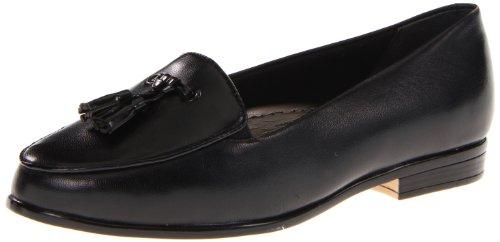 Trotters Women's Leana Loafer,Black/Black,10 N US Black/black