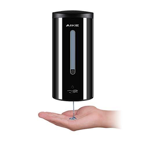 AIKE AK1205 Dispensador jabón automático Pared Acero