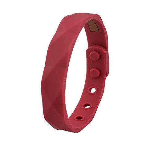 Armband mit Ionen Negativ, wasserdicht, für Damen und Herren, aus Silikon, wasserdicht, Geschenk von Basketball Sport Wristband 13 x 230 mm Modern B