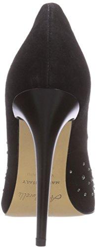 Andrea Morelli Fashion Pumps, Chaussures à talons - Avant du pieds couvert femme Noir - Noir