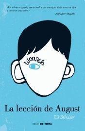 La leccion de August par R.J. Palacio