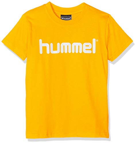 hummel Kinder HMLGO Kids Cotton Logo T-Shirts, Sports Gelb, 116