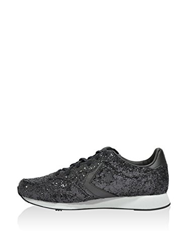 Converse - Auckland Racer Ox Glitter, Sneaker Donna Nero