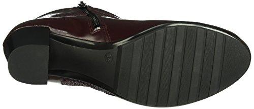 Marc Shoes Damen Edina Kurzschaft Stiefel Rot (Bordo-combi 00041)