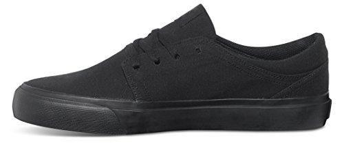 DC Shoes  Herren Schuhe Trase Tx, Chaussures de Skateboard Homme Noir (3Bk)