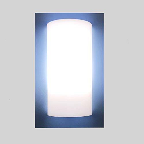 Applique lampada da muro parete soffitto 1xe27 - stile moderno - 100% made in italy