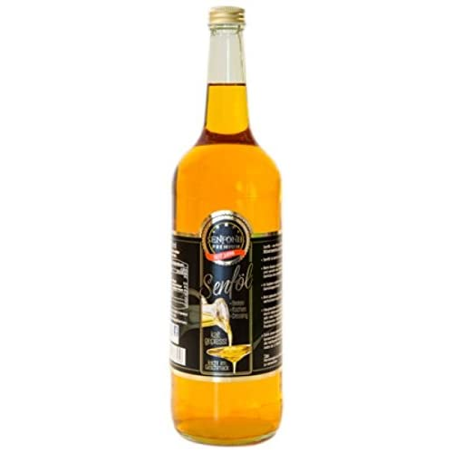 Senfl Kaltgepresst 1 Liter Glasflasche