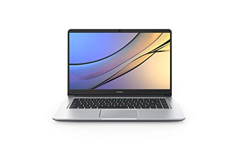 Huawei MateBook D - Ordenador portátil DE 15.6' Full HD (Intel Core i3-8130U, 8 GB RAM, 256 GB SDD, Intel 620, Windows 10 Home) Plata - Teclado QWERTY Español