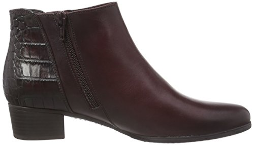 Gabor Shoes 35.6 Damen Kurzschaft Stiefel Rot (wine/vino (Effekt) 85)