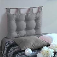 Enjoy Home  Tête de Lit Coton Gris 70 x 45 cm