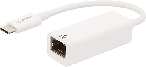 AmazonBasics USB 3.1 Type-C to Ethernet Adapter