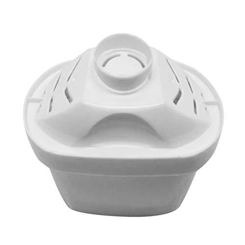 Machinyesity filtro per la purificazione della famiglia filtri per l'acqua a carbone attivo cartuccia per la pulizia di un dispositivo sano per brita water pitcher bianco 6 pezzi