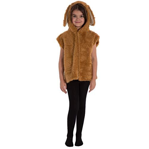 Unbekannt Charlie Crow Golden Retriever or Labrador. Hund Kostüm für Kinder - Einheitsgröße 3-8 Jahre.