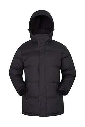 98072cf1a8ca3 Mountain Warehouse Veste Hommes Snow- Manteau de Pluie imperméable, Veste  d'hiver avec