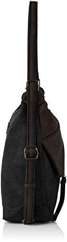 Swanky Swans Damen Finley Convertible Strap Rucksack Rucksackhandtasche, Schwarz (Black), 19.6 x 31 x 35 cm - 3