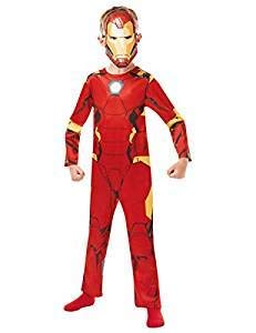 Rubie 's 640829M Offizielles Marvel Avengers Iron Man Classic Kind costume-medium Alter 5–6, Höhe 116cm, Jungen, one ()