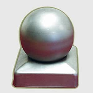 Metallpfostenabschluss Kugel 9,1 x 9,1 cm