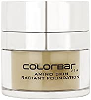 Colorbar Amino Skin Radiant Foundation, Ivory Fair 001, 15g
