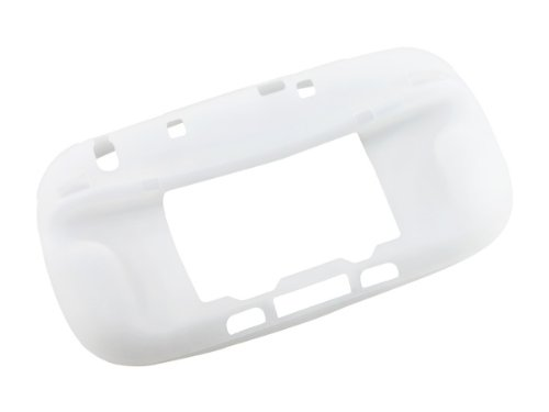 HooToo® - Housse / Etui / Coque / protection pour Nintendo Wii U GamePad en silicone - Blanc (Ajouter un Etui en silicone blanc au panier et le recevoir gratuitement)