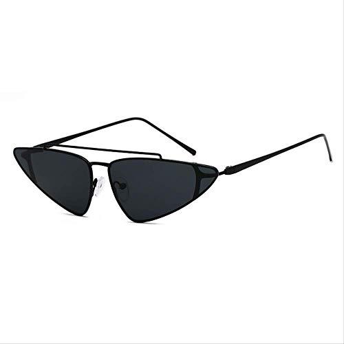 YKDDGG Damen Sonnenbrille Trendige Vintage dreieckige Sonnenbrille für Frauen kleine Brillen Retro Sonnenbrille weibliche Sonnenbrille sind aus hochwertigen Materialien für haltbarkeit1