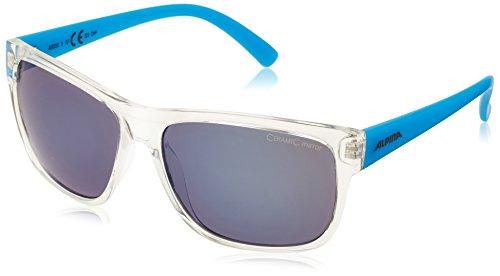 Sonnenbrille Blues (Alpina Sonnenbrille Sport Style HEINY, transparent-blue,)
